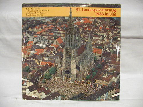 31. Landesposaunentag 1986 in Ulm